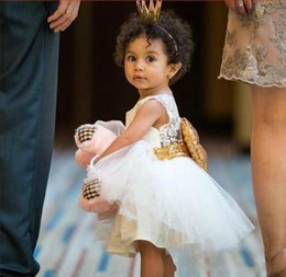 $enCountryForm.capitalKeyWord Australia - 3 Color Girl Lace Paillette Camisole Pageant Dress Kids Baby Princess Party Bowknot Rainbow Colors Sleeveless Tutu Dress Skirt B001 Children