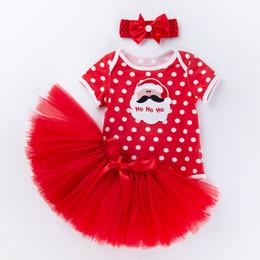 $enCountryForm.capitalKeyWord Australia - Baby Girls Cartoon tutu Skirt Set Cute Headband +Tutu Skirt Christmas Party Tutus Skirt Girls Pettiskirt Clothes Set