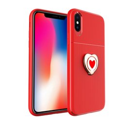 plastic covers mobile phones 2019 - Hottest Lady style for iphone 6 plus case Business heart Kickstand Soft Phone Case For Samsung mobile case PC+TPU cover