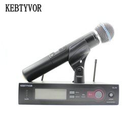 $enCountryForm.capitalKeyWord NZ - SLX24 BETA58 High Quality Single Handheld Wireless Microphone UHF Vocal Microfone System with 6 pin Handheld