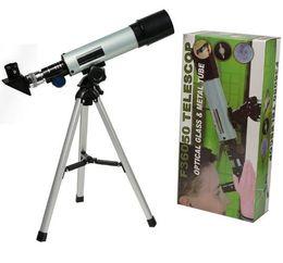 $enCountryForm.capitalKeyWord Australia - Outdoor Monocular Astronomical Space Telescope With Portable Tripod Spotting Scope 360   50mm Telescopic Telescope MOQ:1pcs