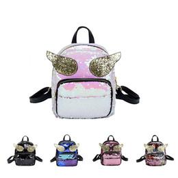 0f1e305f1aca5 8 Fotos Flügel tasche im Angebot-Mode Mädchen Bling Gold Engel Flügel  Pailletten Rucksack Glitter Nette Mini