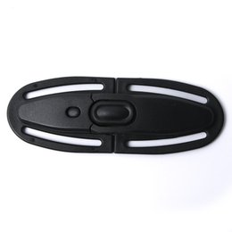 Seat Belt Clip Children UK - SEKINEW Baby Car Safety Strap Lock Buckle Latch Harness Chest Child Seat Belt Clip Knots