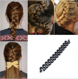 styles for braided hair 2018 - 1Pcs Hair Braiding Braider Tool Head To Weave Hairstyles Hair Accessories Styling Ponytail Styles For Braids Hairdressin
