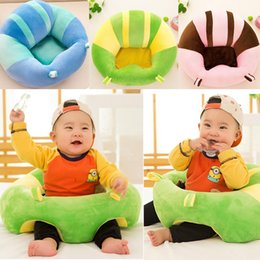 $enCountryForm.capitalKeyWord NZ - Baby Support Seat Plush Soft Baby Sofa Infant Learning To Sit Chair Keep Sitting Posture Comfortable For 0-3 Months Baby