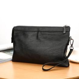 $enCountryForm.capitalKeyWord Australia - new business men bag men hand carry zipper purse wear-resistant litchi grain casual foreign trade hand grab bag