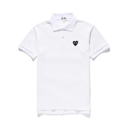 ca8322262510 CDG PLAY Polo Tshirts Pullover TEE off sport Short white Sleeve commes des  garcons red hearts play T-Shirt kanye west fear god A+++
