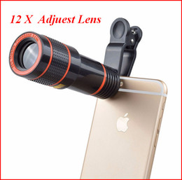 $enCountryForm.capitalKeyWord NZ - Telescope Lens 12x Adjust Lens Zoom in unniversal Optical Camera Telephoto len with clip for Iphone Samsung Huawei
