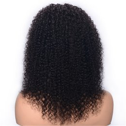 $enCountryForm.capitalKeyWord UK - Kinky Curly Lace Front Wigs for Balck Women Cheap Pre Plucked Brazilian Human Hair Wigs 14 inch Ping