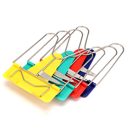 folding book holder Canada - Hot Sale Lot of 4 PCS Mulit-Color Portable Fold Adjustable Frame Reading Rest Book Holder Stand Bookrest