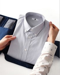 Packing Clothes For Storage NZ - Multifunctional Travel Shirt Necktie Tie Organizer Pouch Anti Wrinkle Clothes Storage Bag PortableWaterproof Luggage Packing Bag for Trip
