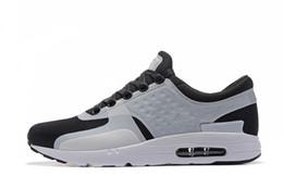 new product fba60 5cab9 Nike Air Max Zero Essential 87 Wholesale mode sport sain confortable courir  en plein air Zero 2 génération chaussures de course hommes et femmes noir  blanc ...