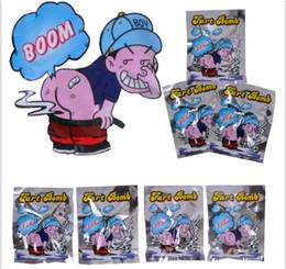 Fart Bomb Bolsas Novedad Olor a Hedor Bomba Maloliente Gags April Fools'Day Bromas Prácticas Gadget Broma Gag Regalo Y151 en venta