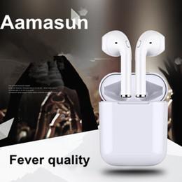 Colored earphone online shopping - 2018 i8X TWS MINI Wireless music I8X Bluetooth Earphone for iPhone Bluetooth headset sports earplug and key press