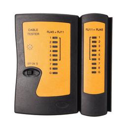 RJ11 RJ45 réseau testeur de câble poche ordinateur portable câble LAN testeur fil ligne téléphonique détecteur Tracker outil de mise en réseau de haute qualité
