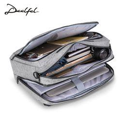 Discount simple men bags - DEELFEL New Backpack Men Backpack Fashion Trend Youth Travel bag men Light Simple Schoolbag Large Capacity Computer Bag
