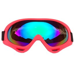 bicycle off road UK - riding glasses bicycle motorcycle goggles ski protective glasses off-road goggles Outdoor riding equipment