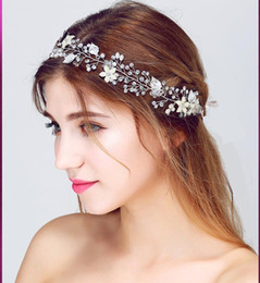 Hair For Weddings Hairstyles NZ - Wedding Hair Accessories Headwear 2018 Headbands for Women Hairstyles HairBands Rhinestone Handmade Diademas Para Mujer Haarband Wholesale