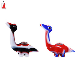 $enCountryForm.capitalKeyWord UK - Creative dinosaur water smoking pipes glass blunt Pyrex oil burner pipe Eco-Friendly silicone tobacco pipe glass bowl bubbler