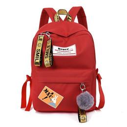 3e78ceada0 Korean style female bacKpacK online shopping - 2018 New Badge Backpack  Female Student School Bags Korean