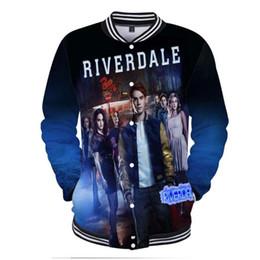 China Hip Hop Fashion Brand Clothing Riverdale Southside Serpents 3D Print College Baseball Jackets Coats Men Women Hoodie Sweatshirt supplier long college jacket suppliers
