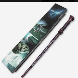$enCountryForm.capitalKeyWord Australia - Harry Potter Magic Wand with Boxes Creative Cosplay 18 Styles Hogwarts Series New Upgrade Resin Non-luminous Magical Wand for Big Magic Toy