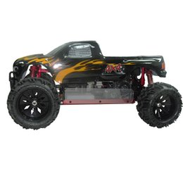 China RC truck 4WD free shipping VRX Racing Hurricane V2 RH509 1 5 gas powered monster truck metal high speed remote control toy cheap truck gas suppliers