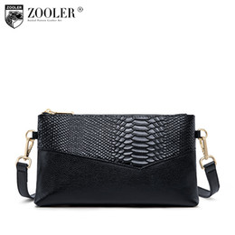 ZOOLER 2018 Genuine Leather shoulder Bag Woman Handbags Top-Quality cowhide  purse fashion day clutch bolsa feminina B256 46108a2cacd1f