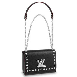 $enCountryForm.capitalKeyWord UK - 2019 M53520 TWIST MM FASHION V Shaped BLACK CHAIN Shoulder Bags Hobo HANDBAGS TOP HANDLES BOSTON CROSS BODY MESSENGER SHOULDER BAGS