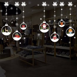 $enCountryForm.capitalKeyWord NZ - Merry Christmas Removable DIY Wall Stickers Shop Window Stickers Noel Christmas Decorations for Home Natal New Year Decoration Y18102609