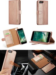 $enCountryForm.capitalKeyWord Australia - Flip Genuine Leather Wallet Clutch Pouch Shell Removable Car Mount Purse Cover Case for iPhone XS Max XR 6s 7 Samsung S9 Plus