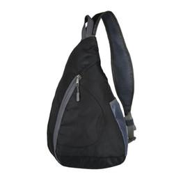 $enCountryForm.capitalKeyWord Canada - Backpack Chest Bag Casual Men Women Foldable Chest Shoulder Bags Boys Girls Solid Single Shoulder Bag Large Capacity Travel Bags