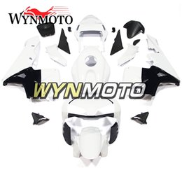 New White Silver Plastic Injection Bodywork Fairing Fit for Honda 2003-2004 CBR600RR F5 aa38