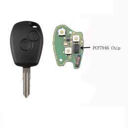 $enCountryForm.capitalKeyWord Australia - 2Buttons 433MHz Remote Key For Renault Vivaro Movano Traffic Master Replacement Car Key Fob PCF7946 Chip VAC102