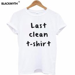 T das mulheres nova atacado! Topos da moda Simples e Elegante das Mulheres T Camisa Limpa Última Carta Impresso Camiseta de Manga Curta T Shirt em Promoção