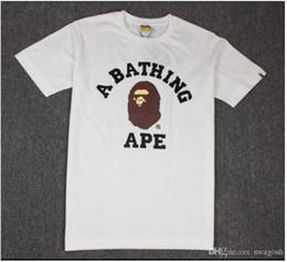 98e2defb3b142 Camiseta de los hombres calientes de la venta del cuello redondo de la  manga corta del tiburón para hombre del verano del algodón de las camisetas  patinetas ...