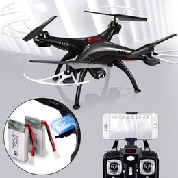 drone box 2019 - X5SW Drones with Camera HD WiFi FPV Real Time transmission RC Helicopter Quadrocopter RC Dron with Extra Battery discoun
