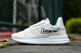 Wholesale 02 The latest high off the quality Originals ZX500 RM Son Goku fashion casual men and women sports shoes