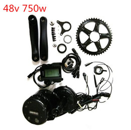 motor bicycles Australia - 48V 750W 8fun Bafang Mid Drive Central Motor C965 LCD BBS02 Latest Controller Crank Motor Eletric Bicycles Trike Conversion DIY Ebike Kits