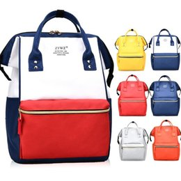 202bfabae3 High Quality Large Capacity Diaper Bag 8 Colors Mommy Backpacks Boys Girls  Student School Backpack Schoolbags Fashion Travel Bags LA883