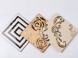 Parquet Flooring Wholesale Australia - High grade microcrystalline gilded wafer 300 mm * 300 mm kitchen anti-skid brick balcony restaurant floor brick wall brick Mosaic
