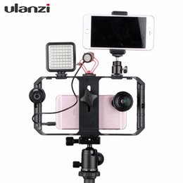 Discount video stabilizers - Ulanzi U-Rig Pro Smartphone Video Rig Filmmaking Case Handheld Stabilizer Grip with 3 Shoe Mount Compatible for Iphone