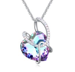 SwarovSki cryStal Snake necklace online shopping - 1000se Use swarovski elements Crystal Necklace Guardians of the mind Design money Winding geometry Pendant jewelry Woman Ornaments hot sale
