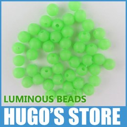 Chinese  ox evolution UGOB44 200PCS Lot 4mm*4mm Premium Green Color Small Round Soft Rubber Luminous Beads Lumo Glow Beans Sabiki Snapper Rig Lure... manufacturers
