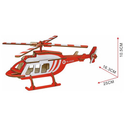 $enCountryForm.capitalKeyWord Australia - Lulong 3D Wooden Puzzle 3D wood Jigsaw Puzzle Woodcraft Assembly Kit - NL4500 Transport helicopter with 40pcs Parts