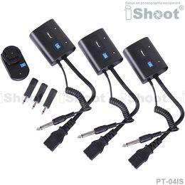 Wireless radio flash trigger online shopping - Wireless Radio Flash Trigger Controller PT IS for mm mm SYNC JACK Photo Studio Strobe Monolight RX
