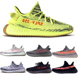 Shoe ShopS online online shopping - Shop online Sesame v2 Butter Men Sneakers Sply Kanye West Shoes Static Size Myzeeya Ultra Boosts Beluga Zebra