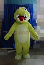Crocodiles Alligator Toys Australia - crocodile mascot costume Free Shipping Adult Size,cute alligator mascot plush toy carnival party celebrates mascot factory sales.