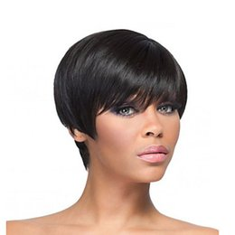 Human Hair lace wigs promotion online shopping - Promotion Brazilian human Full Lace Human Hair Wigs Glueless Full Lace Front Wig For Black Women