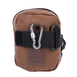 Relojes Y Joyas New Mobile Phone Pocket Wear-resistant Lightweight Mens Canvas Pocket Waterproof Outdoor Sports Pockets Multi-function Wallet A Great Variety Of Goods